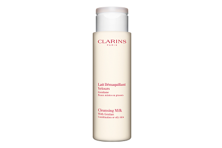 Clarins Cleansing Milk with Gentian