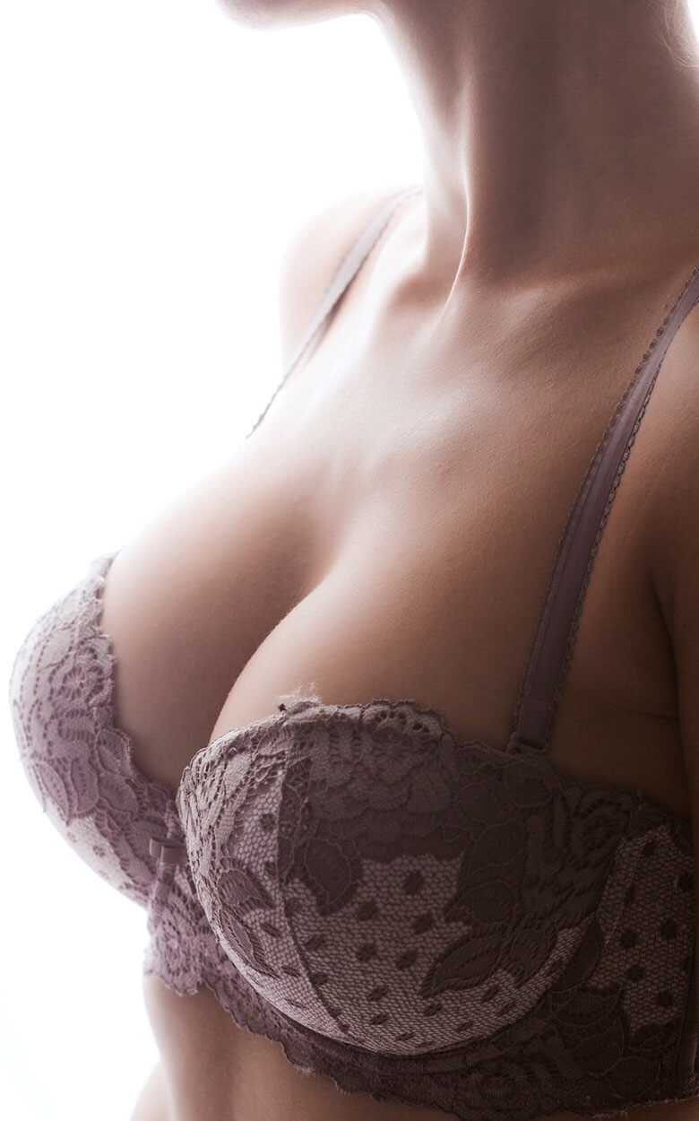 Breast implants increase volume and lift the breasts