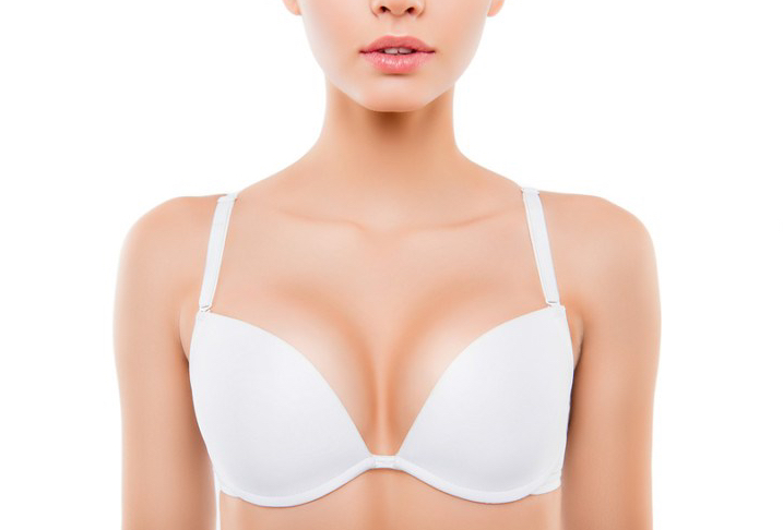 A good support bra will slow down the sagging process