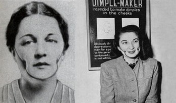 Dimple-maker
