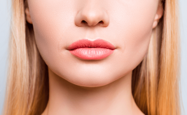 pink lip augmentation
